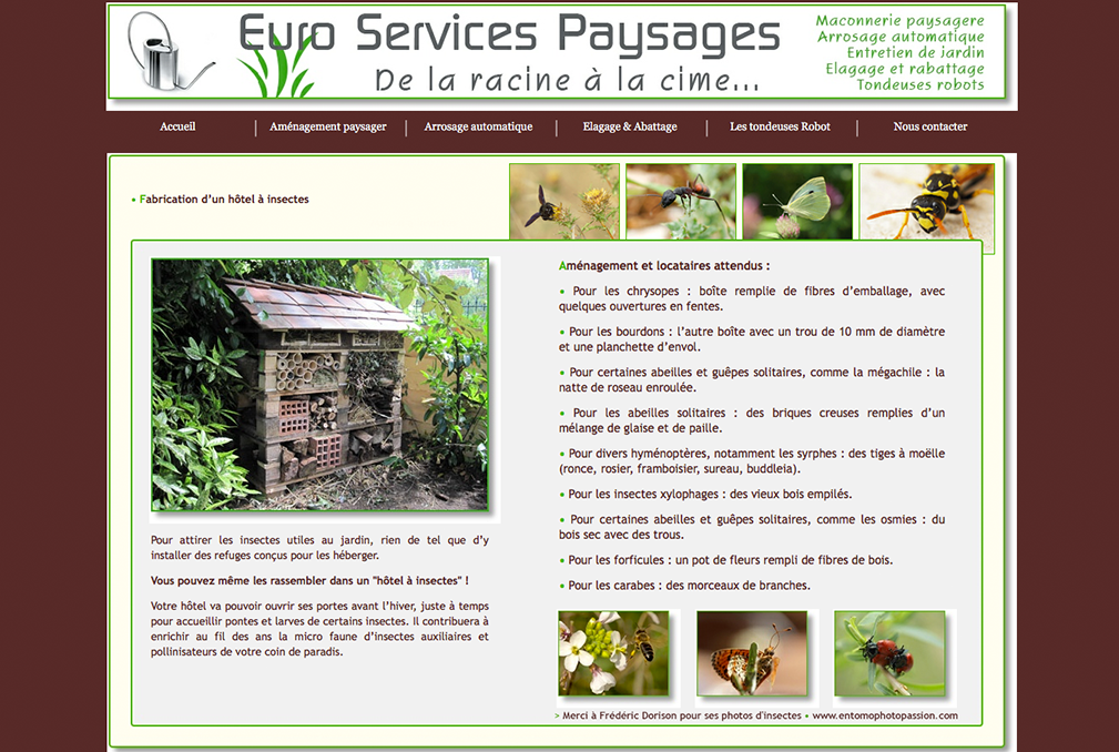 EUROSERVICES PAYSAGES